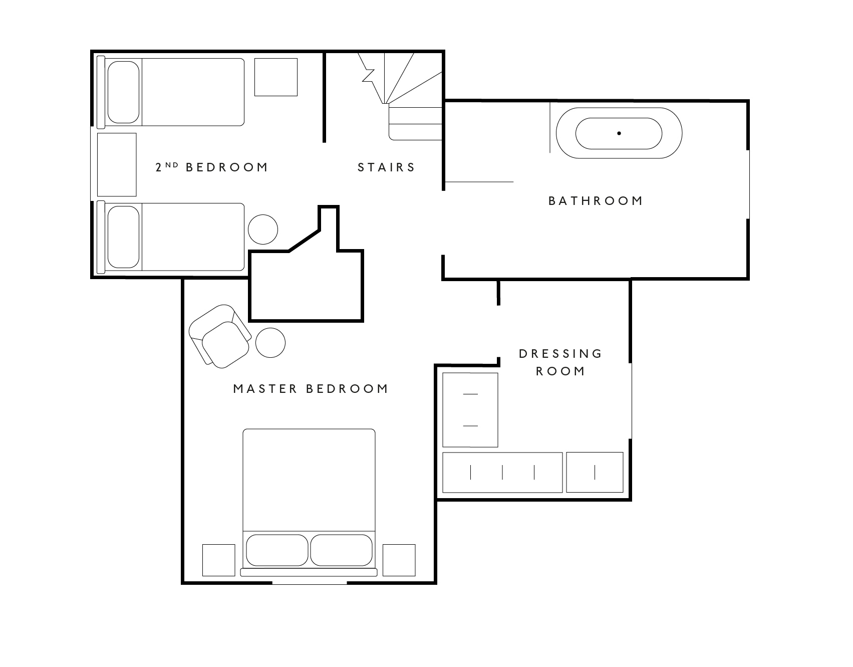 Church Lodge Floor Plan Upstair